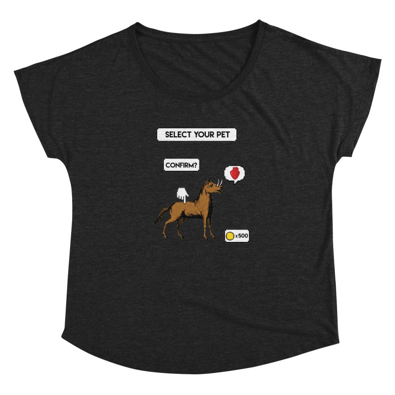 Select Your Pet v1.0 Women's Dolman Scoop Neck by My Shirty Life