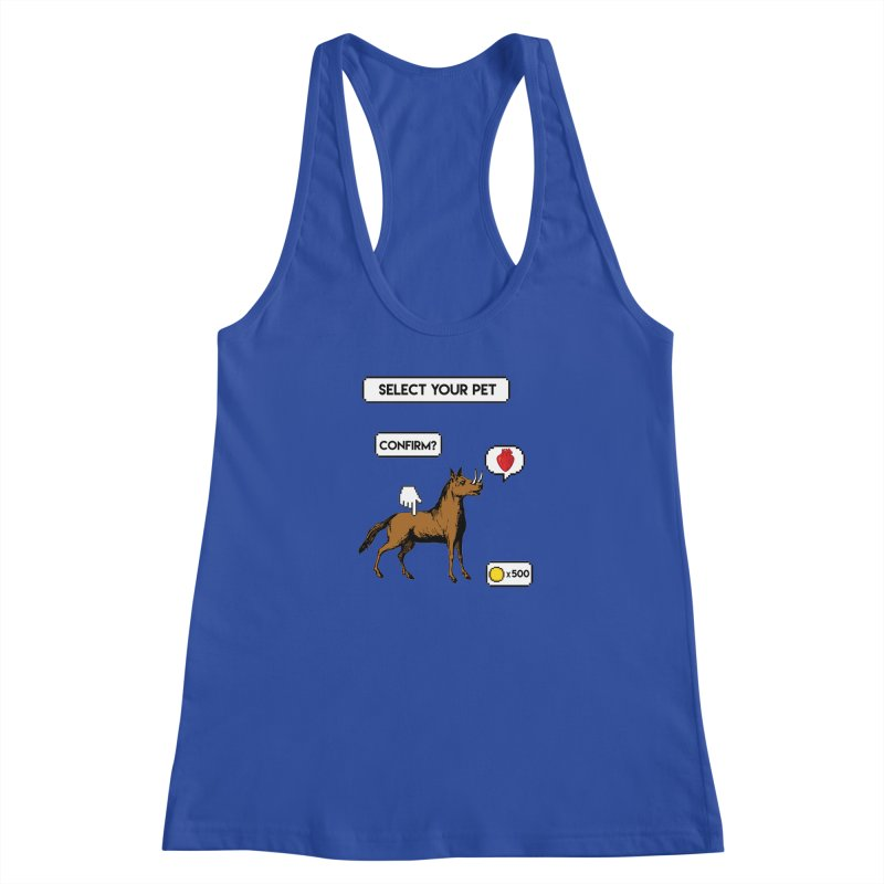 Select Your Pet v1.0 Women's Racerback Tank by My Shirty Life