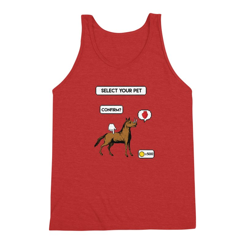 Select Your Pet v1.0 Men's Triblend Tank by My Shirty Life