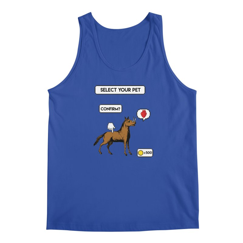 Select Your Pet v1.0 Men's Regular Tank by My Shirty Life