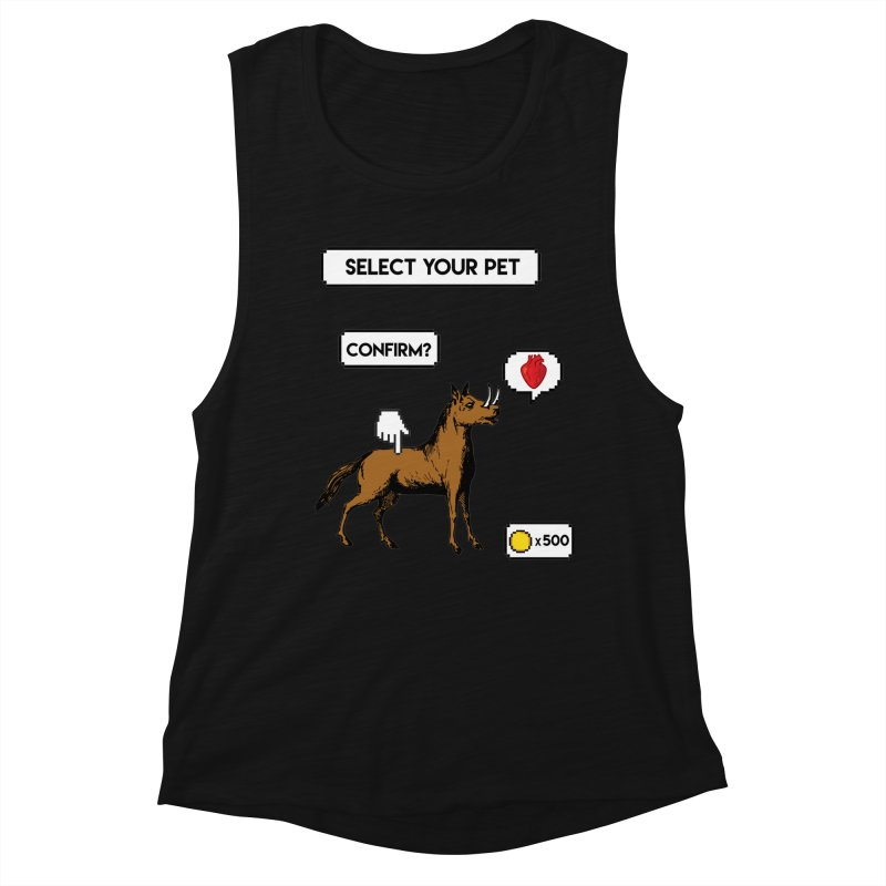 Select Your Pet v1.0 Women's Muscle Tank by My Shirty Life