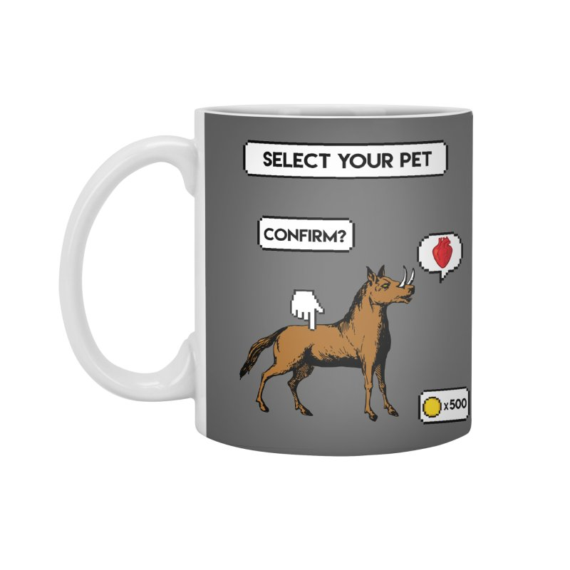 Select Your Pet v1.0 Accessories Standard Mug by My Shirty Life