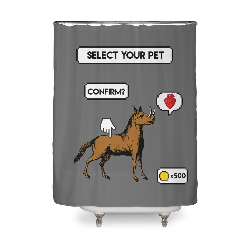 Select Your Pet v1.0 Home Shower Curtain by My Shirty Life