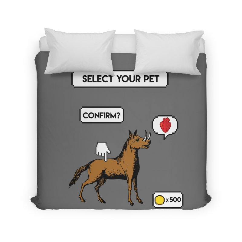 Select Your Pet v1.0 Home Duvet by My Shirty Life