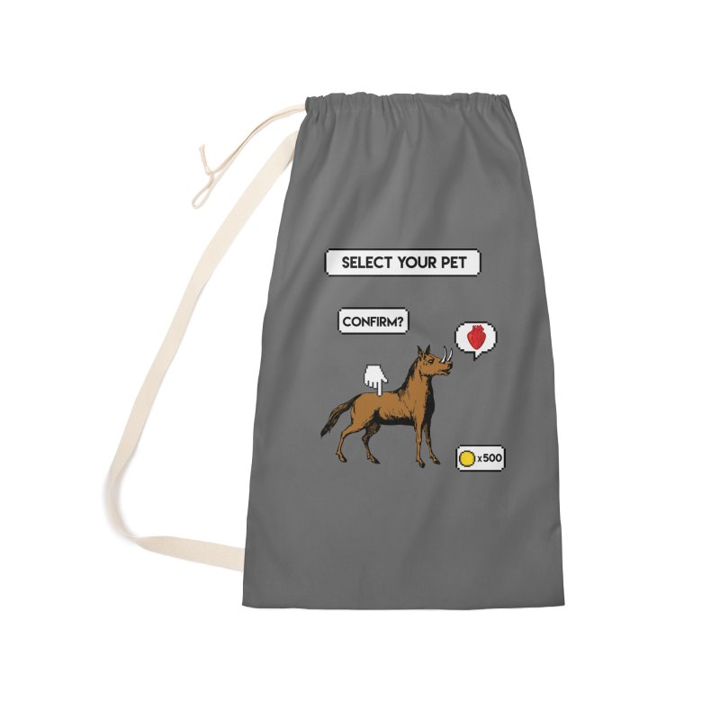 Select Your Pet v1.0 Accessories Laundry Bag Bag by My Shirty Life