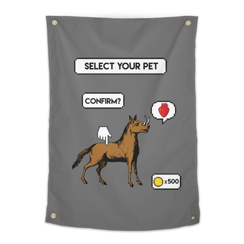Select Your Pet v1.0 Home Tapestry by My Shirty Life