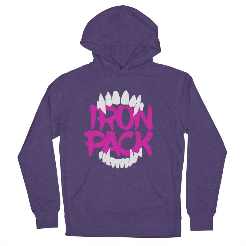 Iron Pack - Purple Men's French Terry Pullover Hoody by My Shirty Life