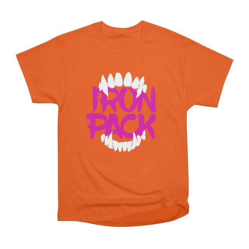 Iron Pack - Purple Women's Heavyweight Unisex T-Shirt by My Shirty Life