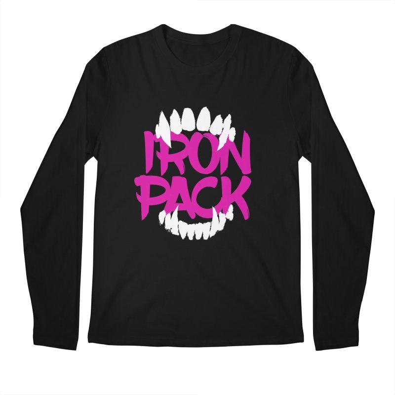 Iron Pack - Purple Men's Regular Longsleeve T-Shirt by My Shirty Life