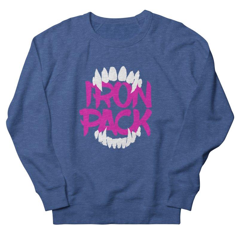 Iron Pack - Purple Women's French Terry Sweatshirt by My Shirty Life