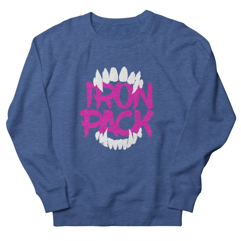 Iron Pack - Purple Men's French Terry Sweatshirt by My Shirty Life