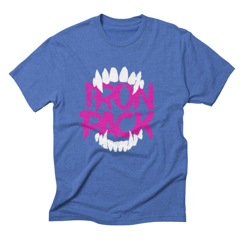 Iron Pack - Purple Men's Triblend T-Shirt by My Shirty Life