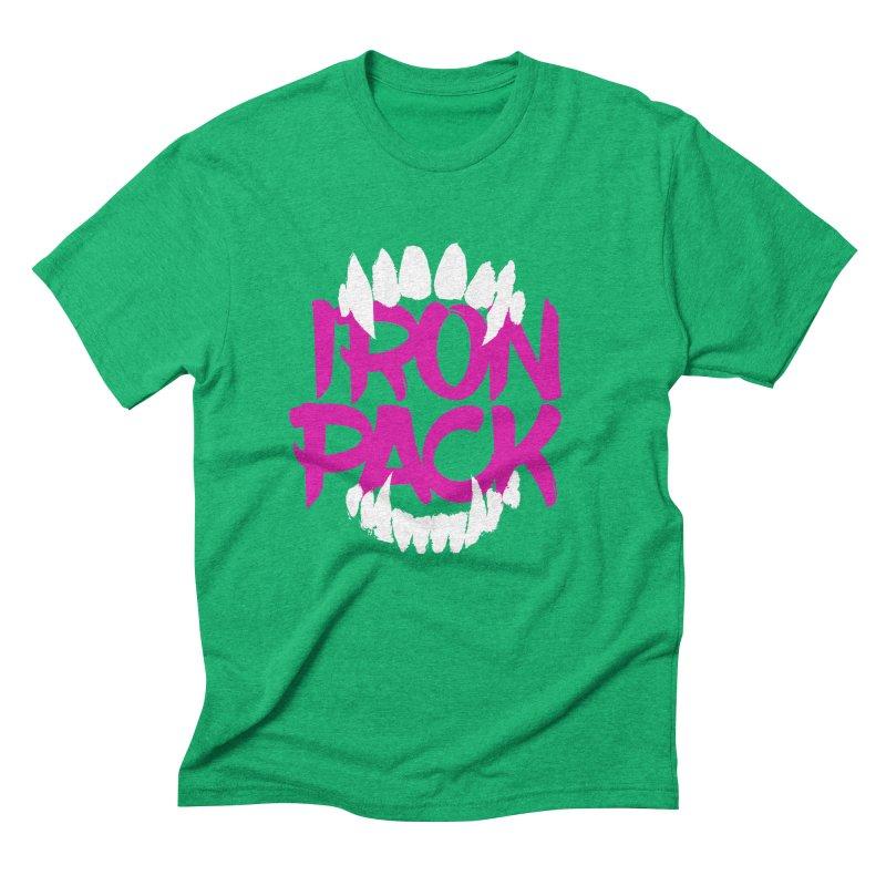 Iron Pack - Purple Men's Triblend T-Shirt by My Shirty Life