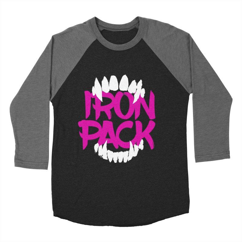 Iron Pack - Purple Men's Baseball Triblend Longsleeve T-Shirt by My Shirty Life