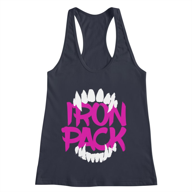 Iron Pack - Purple Women's Racerback Tank by My Shirty Life