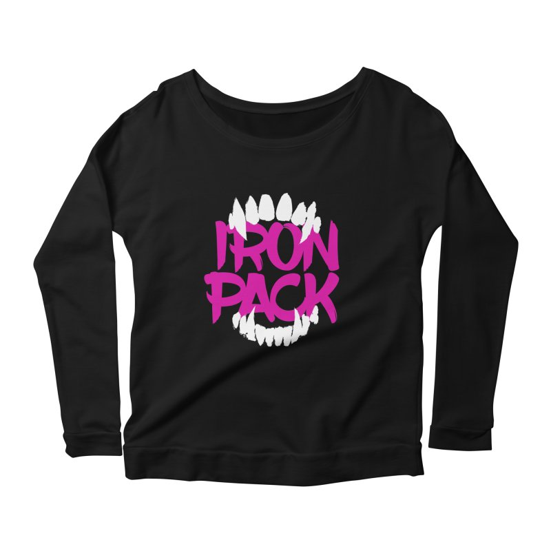 Iron Pack - Purple Women's Scoop Neck Longsleeve T-Shirt by My Shirty Life