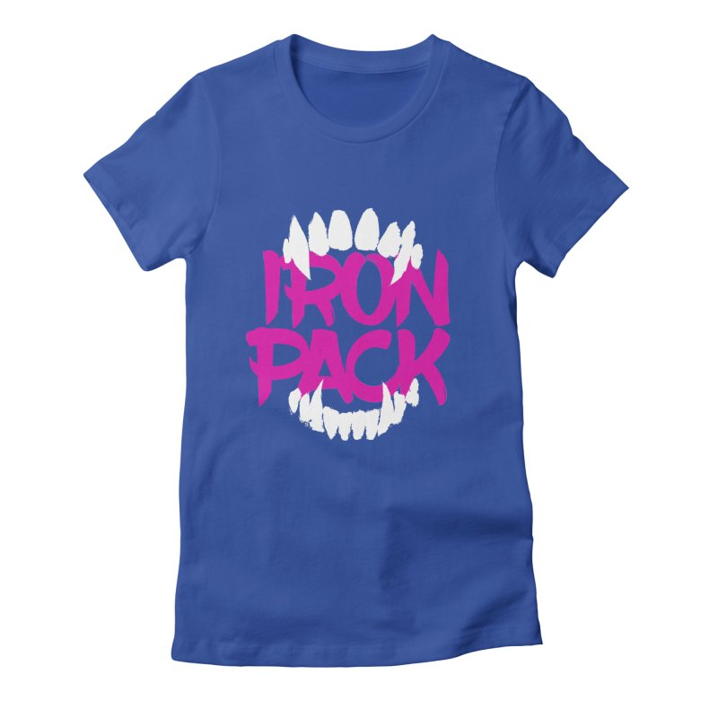 Iron Pack - Purple Women's Fitted T-Shirt by My Shirty Life