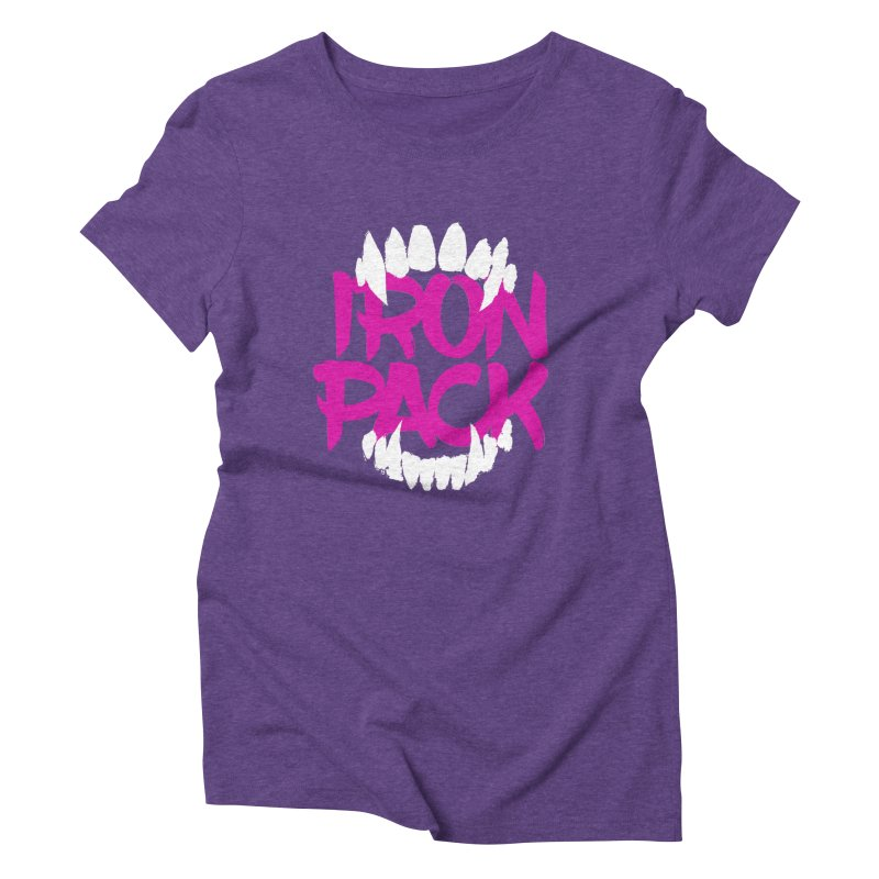 Iron Pack - Purple Women's Triblend T-Shirt by My Shirty Life