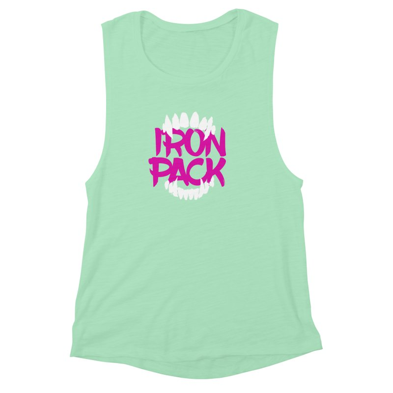 Iron Pack - Purple Women's Muscle Tank by My Shirty Life