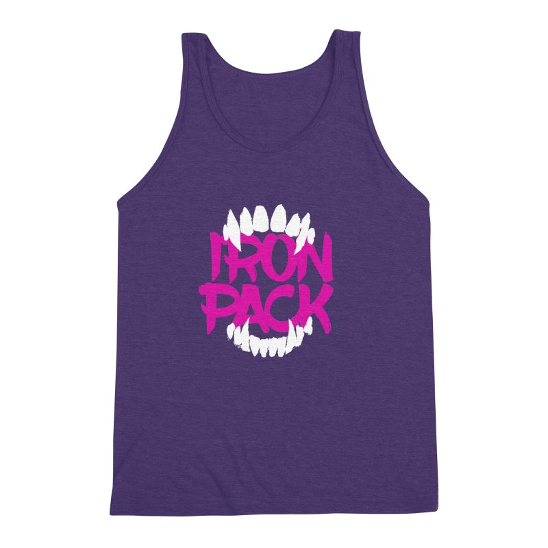 Iron Pack - Purple Men's Triblend Tank by My Shirty Life