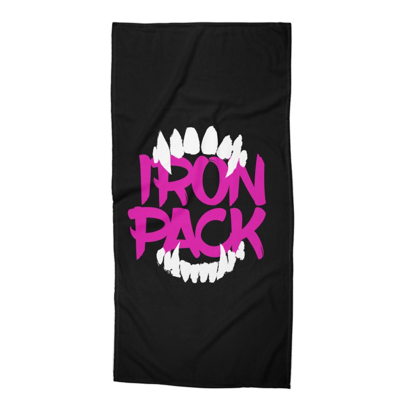 Iron Pack - Purple Accessories Beach Towel by My Shirty Life