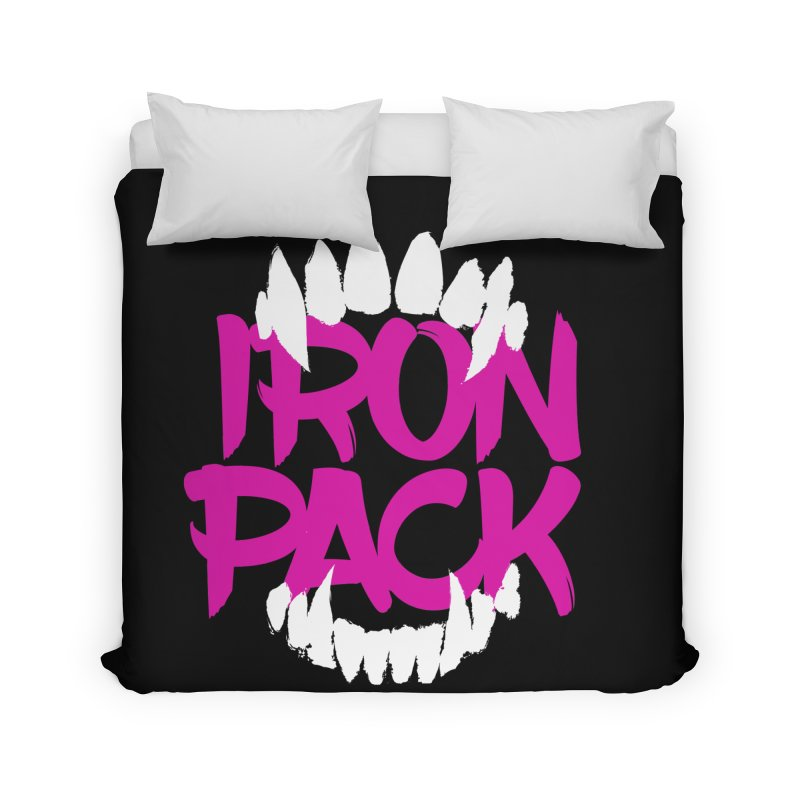 Iron Pack - Purple Home Duvet by My Shirty Life