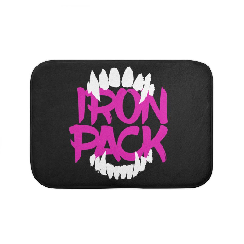 Iron Pack - Purple Home Bath Mat by My Shirty Life