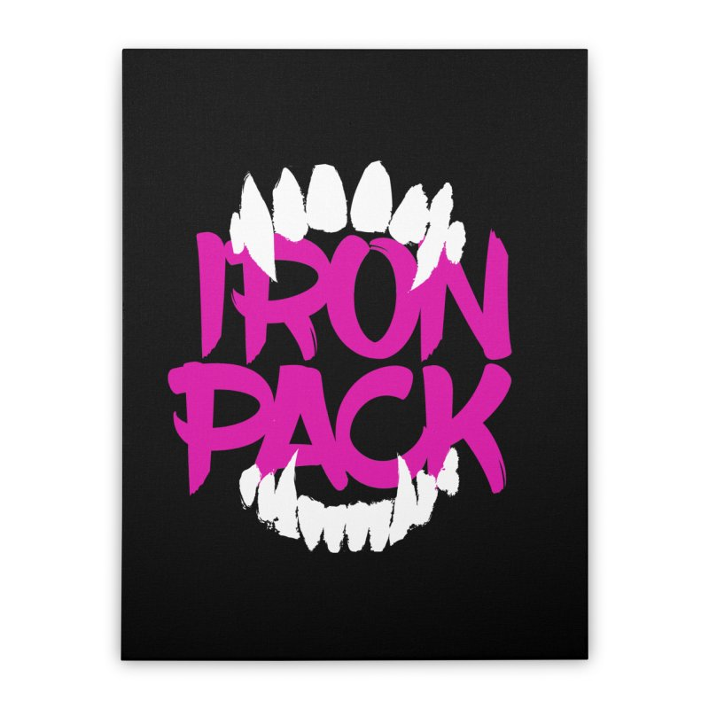 Iron Pack - Purple Home Stretched Canvas by My Shirty Life