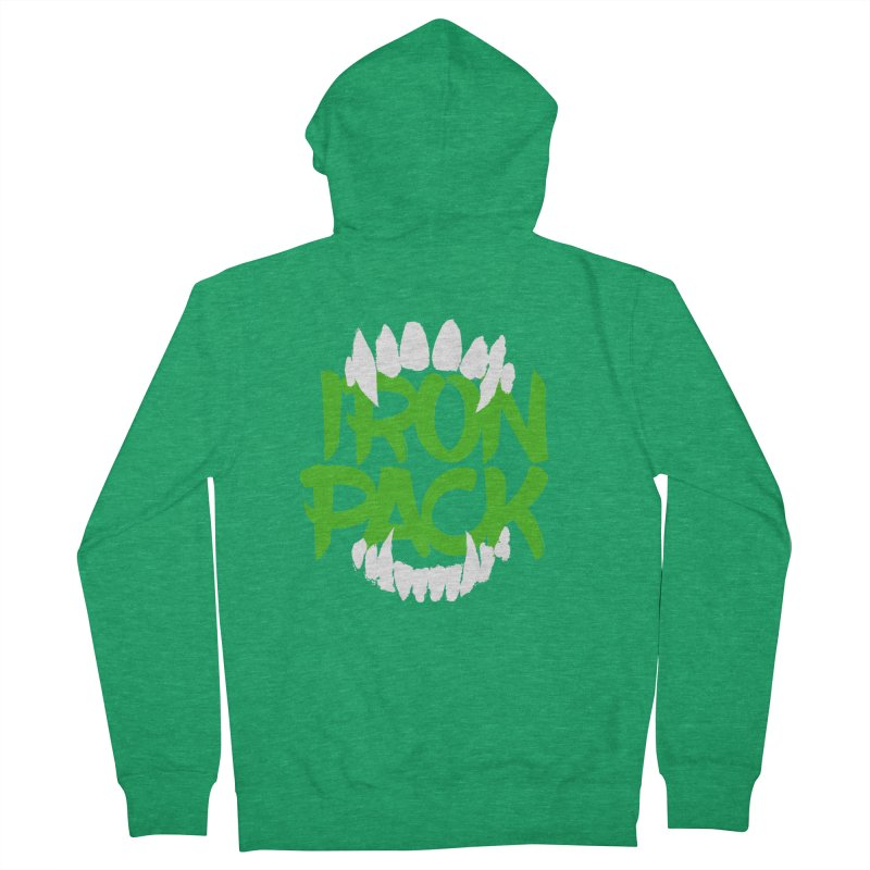 Iron Pack - Green Women's Zip-Up Hoody by My Shirty Life