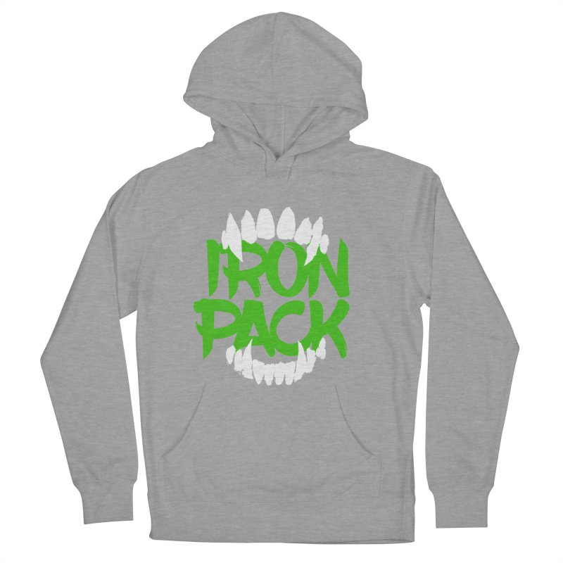 Iron Pack - Green Women's French Terry Pullover Hoody by My Shirty Life
