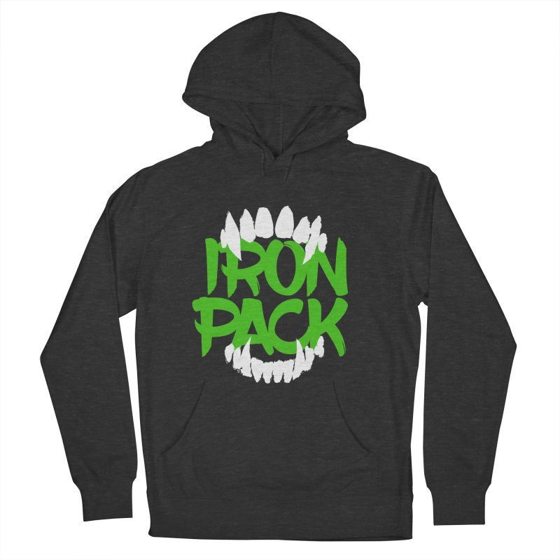 Iron Pack - Green Men's French Terry Pullover Hoody by My Shirty Life