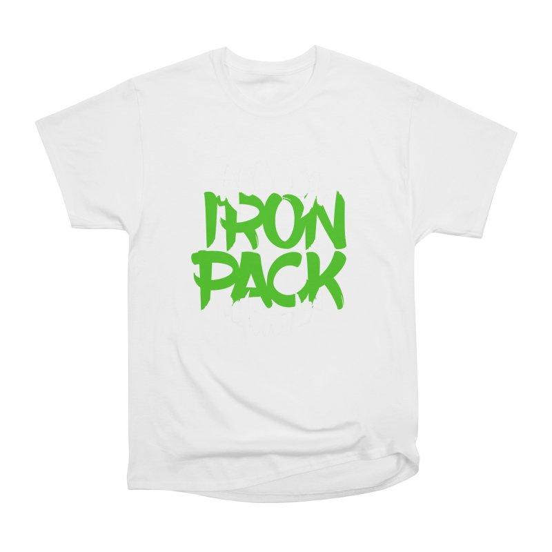 Iron Pack - Green Men's Heavyweight T-Shirt by My Shirty Life