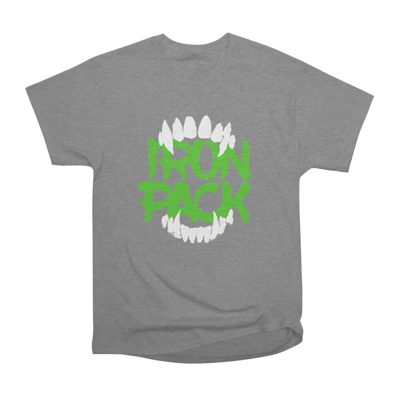 Iron Pack - Green Women's Heavyweight Unisex T-Shirt by My Shirty Life
