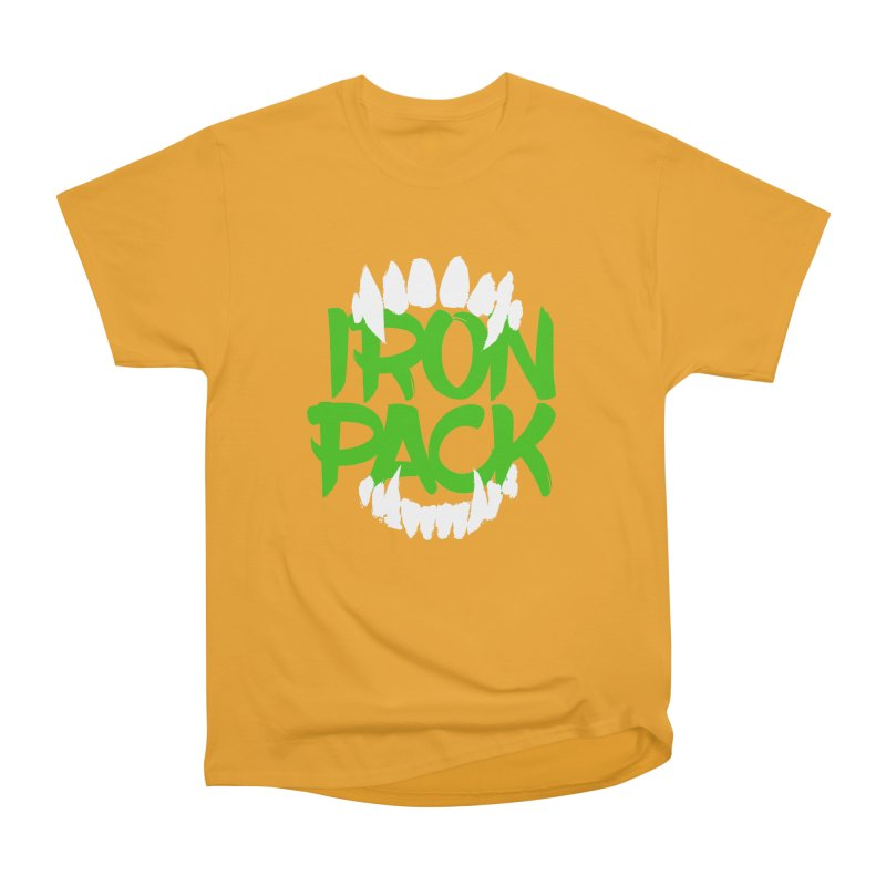 Iron Pack - Green Women's Heavyweight Unisex T-Shirt by My Shirty Life