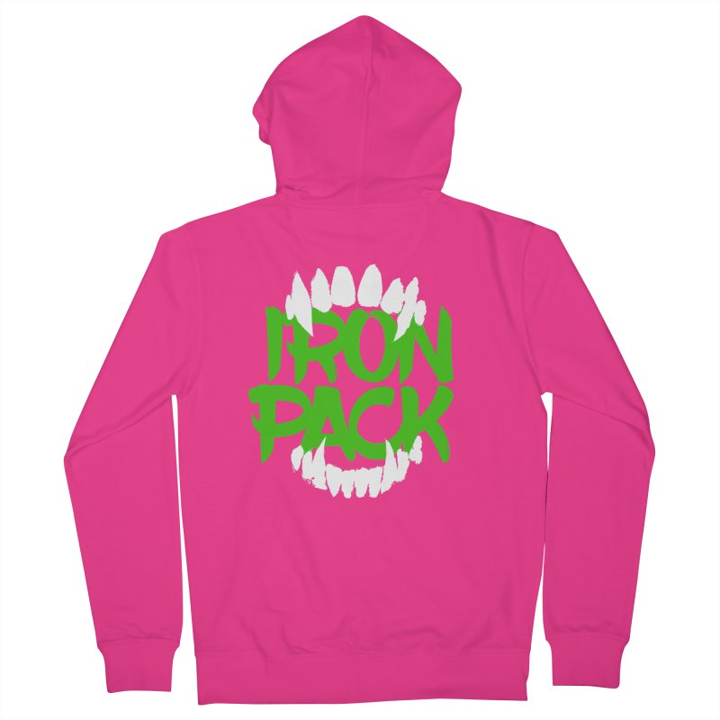 Iron Pack - Green Men's Zip-Up Hoody by My Shirty Life