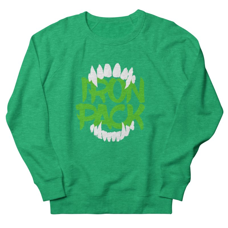 Iron Pack - Green Women's French Terry Sweatshirt by My Shirty Life