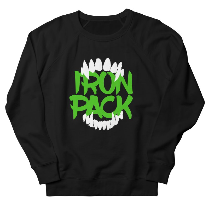 Iron Pack - Green Men's French Terry Sweatshirt by My Shirty Life