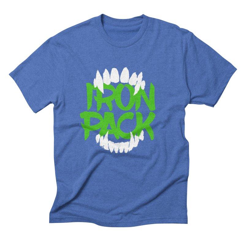 Iron Pack - Green Men's Triblend T-Shirt by My Shirty Life