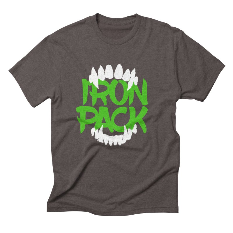 Iron Pack - Green Men's Triblend T-Shirt by My Shirty Life