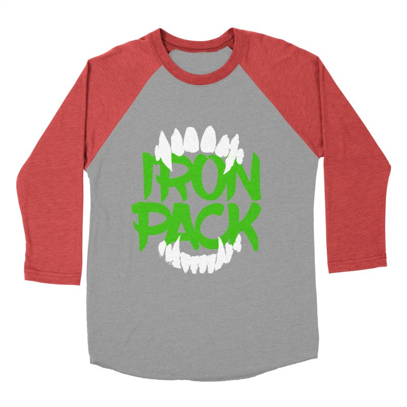 Iron Pack - Green Men's Baseball Triblend Longsleeve T-Shirt by My Shirty Life