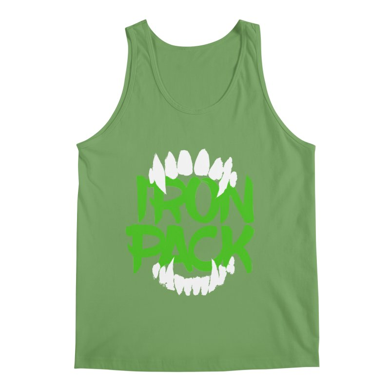 Iron Pack - Green Men's Tank by My Shirty Life