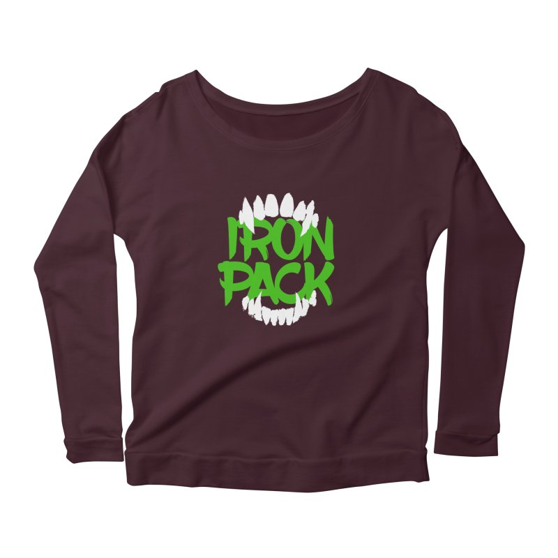 Iron Pack - Green Women's Longsleeve T-Shirt by My Shirty Life