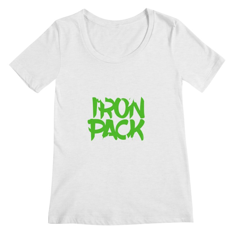 Iron Pack - Green Women's Regular Scoop Neck by My Shirty Life