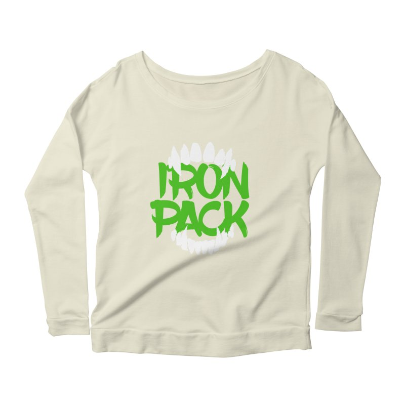 Iron Pack - Green Women's Scoop Neck Longsleeve T-Shirt by My Shirty Life