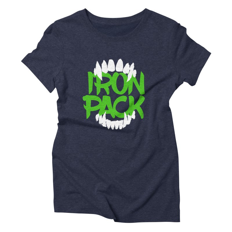 Iron Pack - Green Women's Triblend T-Shirt by My Shirty Life