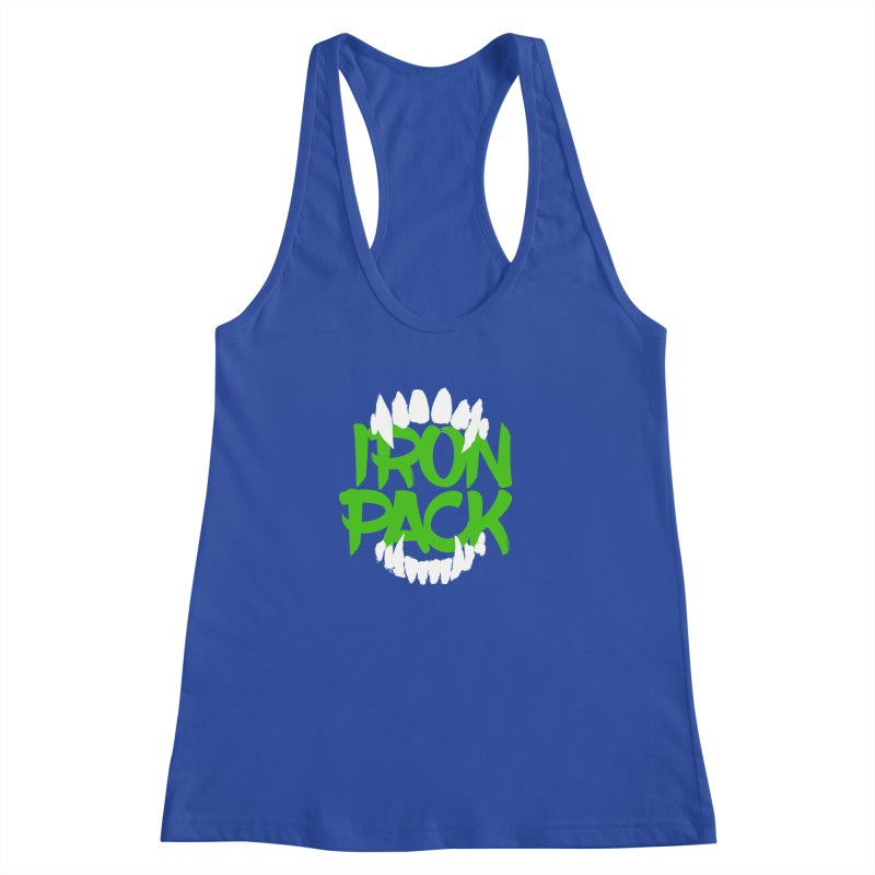 Iron Pack - Green Women's Racerback Tank by My Shirty Life