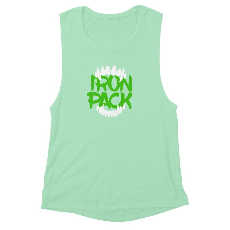 Iron Pack - Green Women's Muscle Tank by My Shirty Life