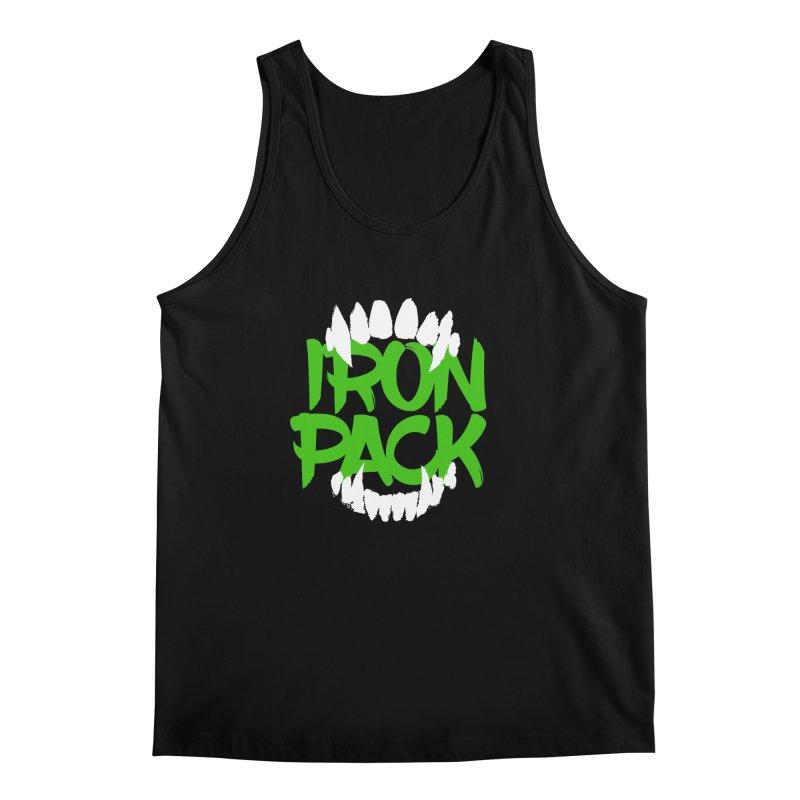 Iron Pack - Green Men's Regular Tank by My Shirty Life