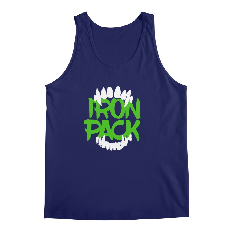Iron Pack - Green Men's Regular Tank by My Shirty Life