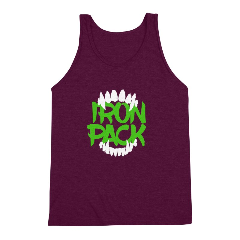 Iron Pack - Green Men's Triblend Tank by My Shirty Life